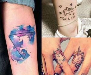 tattoo and unicorn image