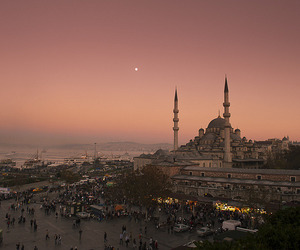 istanbul, travel, and sunset image