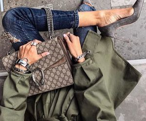 gucci, inspiration, and jeans image