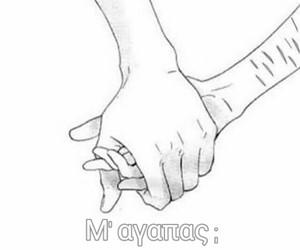 love, manga, and hands image