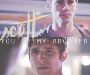 teen wolf, brothers, and scott mccall image
