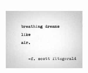 dreams, f scott fitzgerald, and poems image