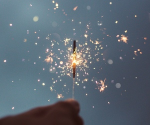 light, sparkler, and beautiful image