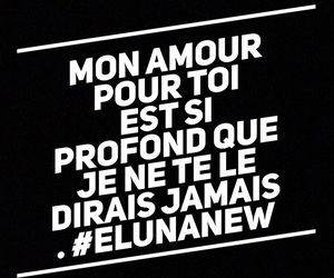 amour, citation, and je t aime image