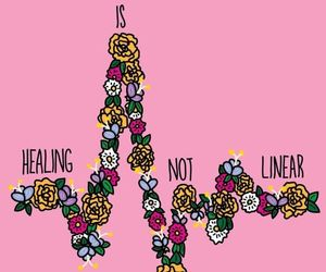 healing, quotes, and flowers image