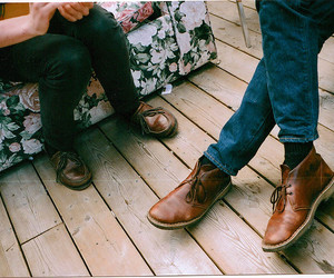 vintage, shoes, and hipster image