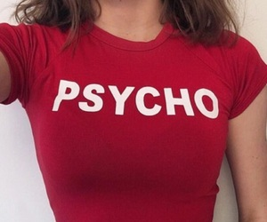 red, Psycho, and aesthetic image