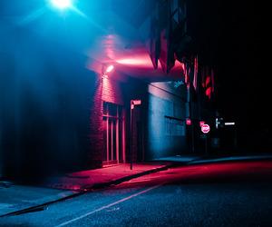 neon, light, and night image