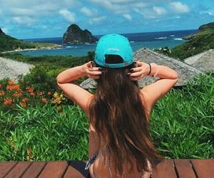 beach, black, and brazil image