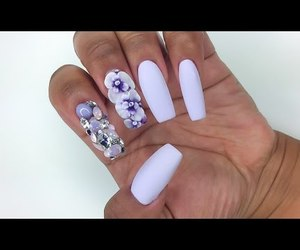 ballerina, nails, and coffin image