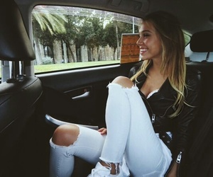 alexis ren, goals, and outfit image
