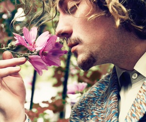 flowers, aaron johnson, and boy image