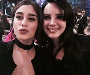 lauren jauregui, lana del rey, and fifth harmony image