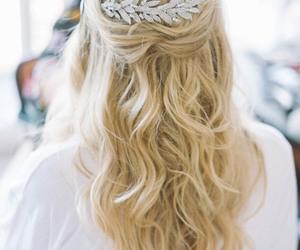 hair, bride, and nice image