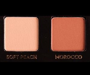 makeup and peachy image