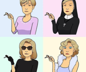 coven, serie, and love image
