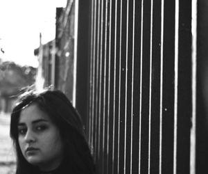 beauty, photo, and black & white image