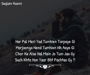poetry, quotes, and urdu image