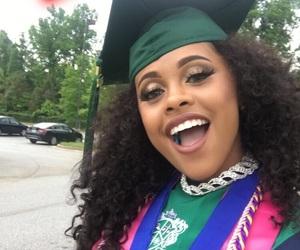 graduation, goals, and hair image