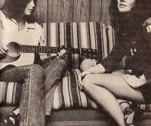 emmylou harris and linda ronstadt. image