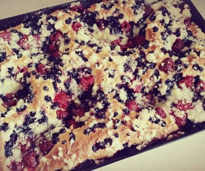 baking, food, and black berry image
