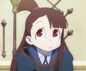 little witch academia and akko image