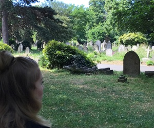 london, death, and graveyard image