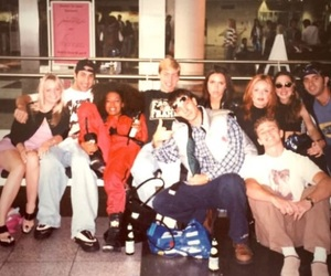spice girls, airport, and 90s image