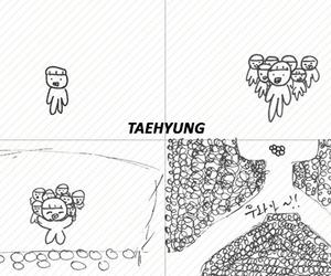 v, taehyung, and tumblr image