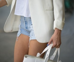elegant, outfit, and street style image