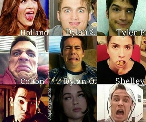 teen wolf, ryan kelley, and tyler posey image