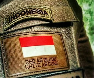 indonesia, patriot, and merah putih image