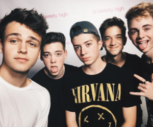 band, cute boys, and zach herron image