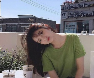 ulzzang, girl, and style image
