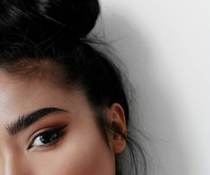 makeup, fashion, and hair image