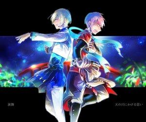 itsuki shu, ensemble stars, and eichi tenshouin image