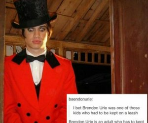 Adult, brendon urie, and child image