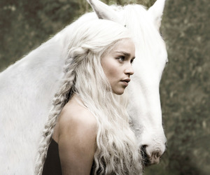 game of thrones, horse, and white image
