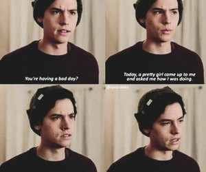 cole sprouse, riverdale, and funny image
