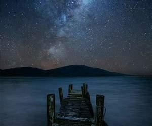 stars, bridge, and wallpaper image