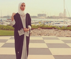 hijab, fashion, and girl image