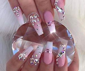 jewerly, nails, and pink image