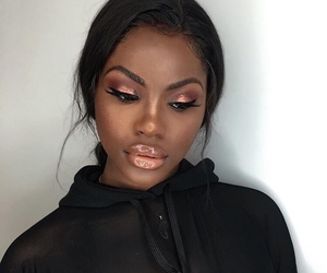 africa, eyeshadow, and glossy image