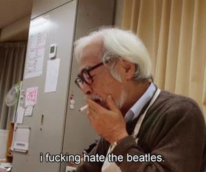 hate, Miyazaki, and thebeatles image