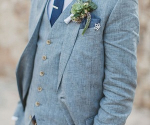 wedding suit, wedding, and the perfect day image