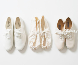 white and shoes image