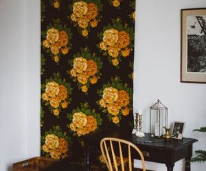 apartment, wall, and bohemian image
