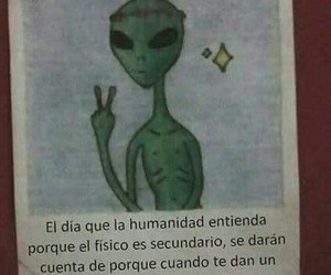 alien, frases, and people image