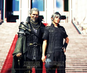 noctis lucis caelum, final fantasy xv, and kingsglaive image