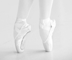 white, dance, and ballet image